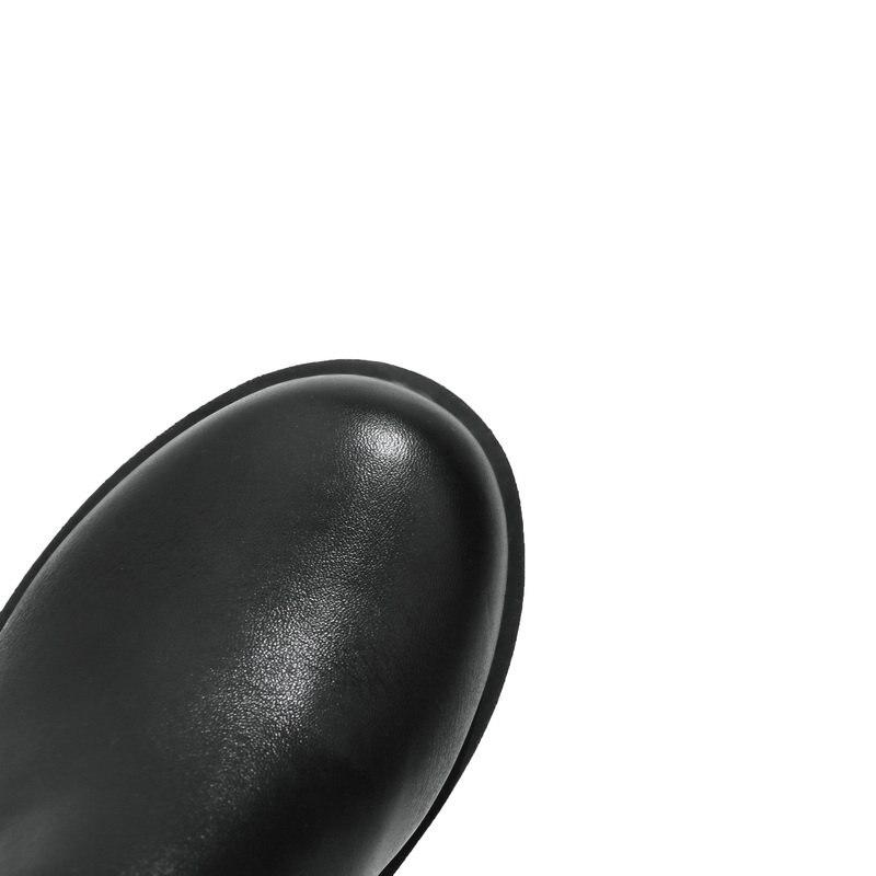 Cm Femme Bottes Épais Western blanc Chaussures Parti Bout Sur Le Dames Robe Blanc Noir Rouned 5 Haute Talons Genou Nouveau Noir 5qZ8BzwFw