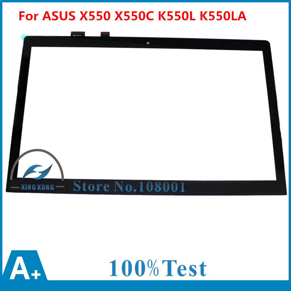 For Asus VIVOBOOK X550 X550CA X550E X550EA K550L K550LA F550L F550LA Series Touch Screen Glass Digitizer Replacement 100% NEW touch screen digitizer glass for asus vivobook v550 v550c v550ca tcp15f81 v0 4