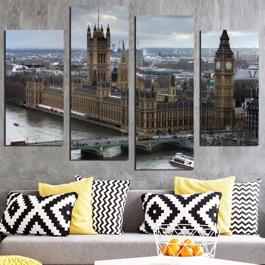 Home Decor Stores London: Aliexpress.com : Buy Black White World City Poster Nordic