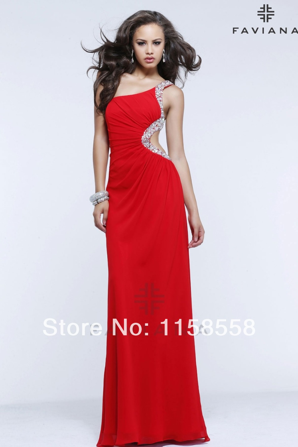 Aliexpress.com : Buy Prom Dresses For Rent One Shoulder Dress ...