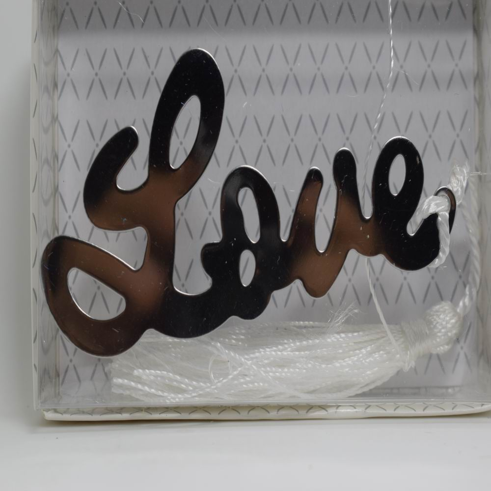 Letter From Baby To Baby Shower Guests: 1PCS Letter LOVE Bookmark Wedding Favors And Gifts For