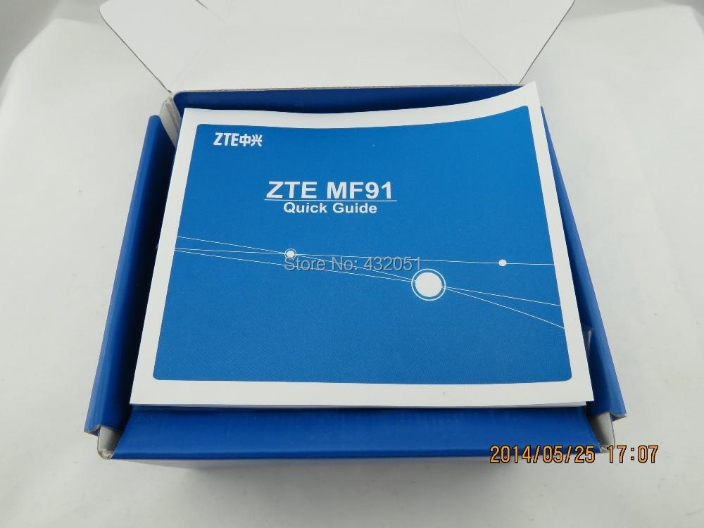 ახალი ZTE MF91D LTE ჯიბის ცხელ - ქსელის აპარატურა - ფოტო 2