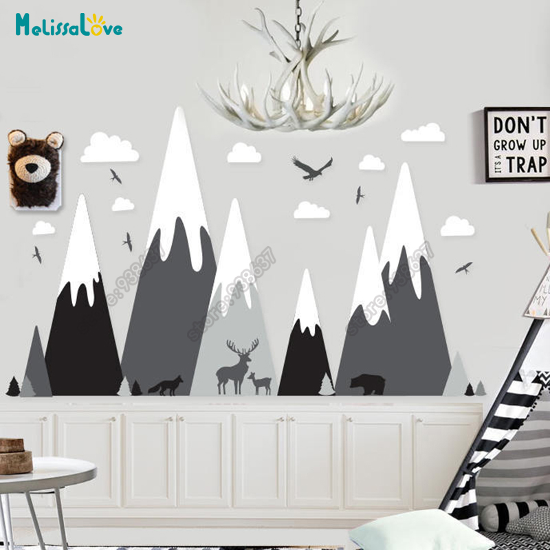 Baby Room Decal Adventure Theme