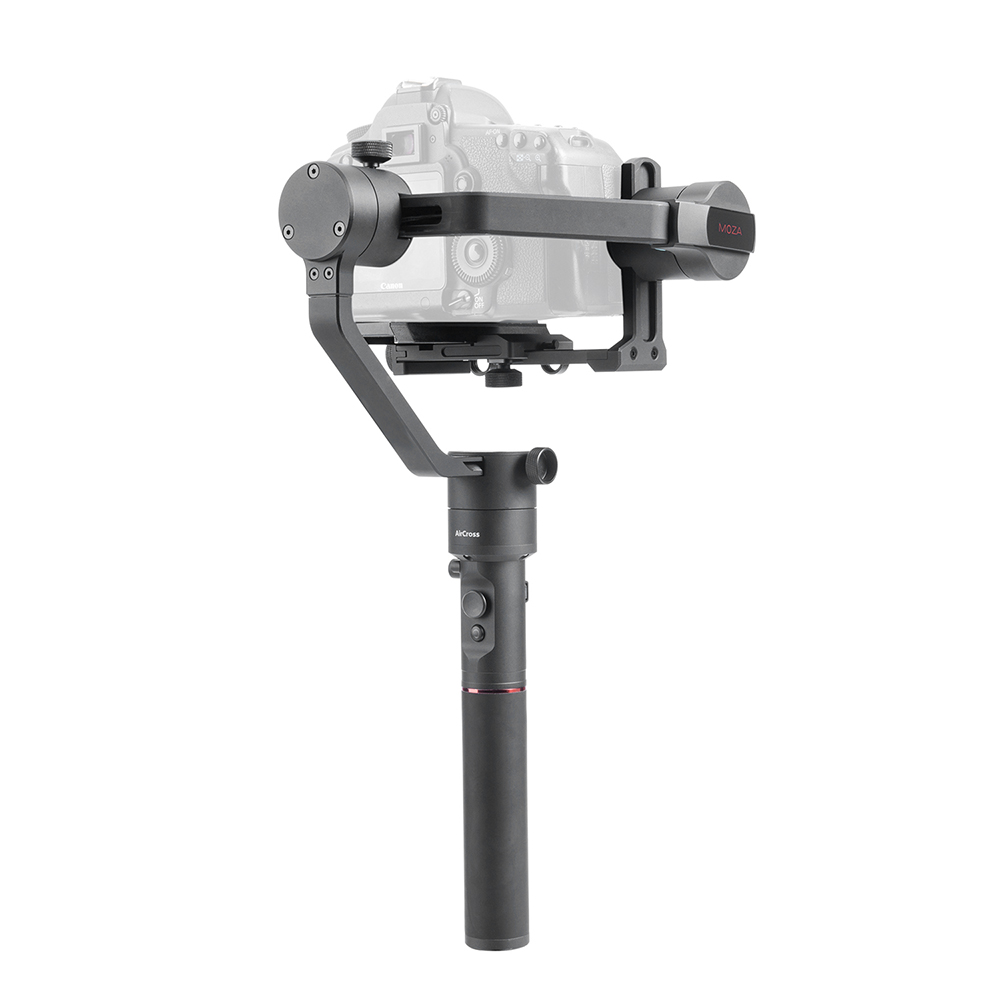 Professional AirCross 3-Axis Handheld Gimbal Stabilizer Long-exposure Timelapse Auto-Tuning for Parameters for Mirrorless Camera
