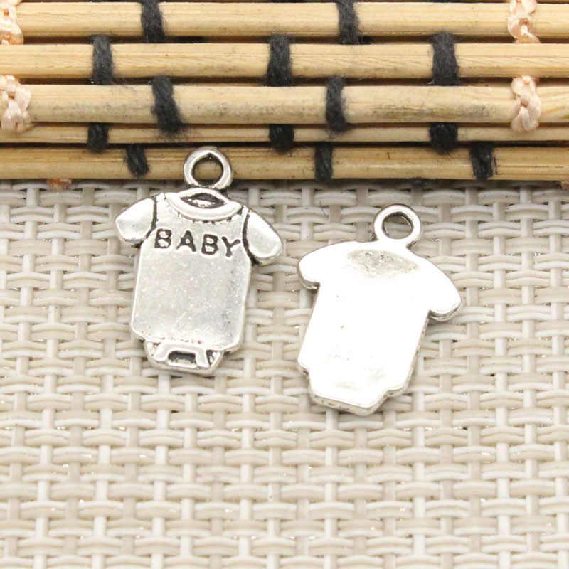 10 шт. шармы сдельник для ребенка покрывало ткань 17x12 мм тибетские посеребренные Подвески антикварные ювелирные изделия Изготовление DIY ручной работы