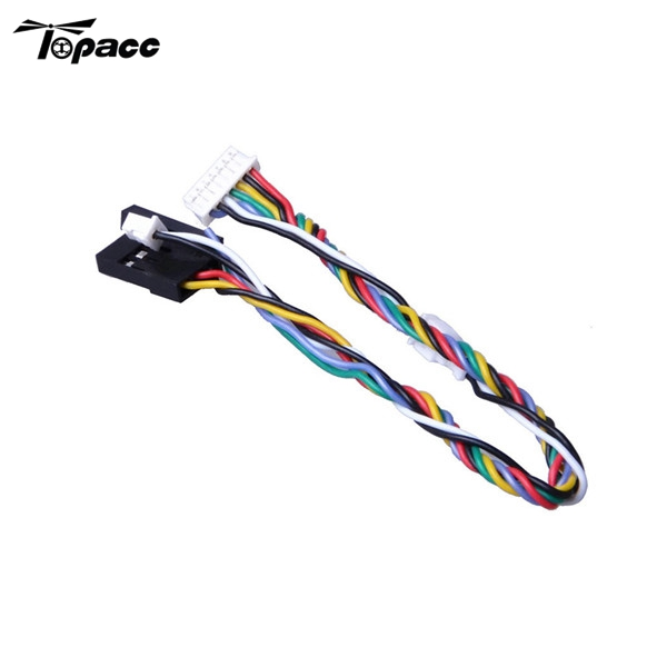 High Quality 7pin Servo Cable Wire for Foxeer Arrow V3 / Monster V2 / Night Wolf V2 Action Camera Cam Spare Parts Accessories