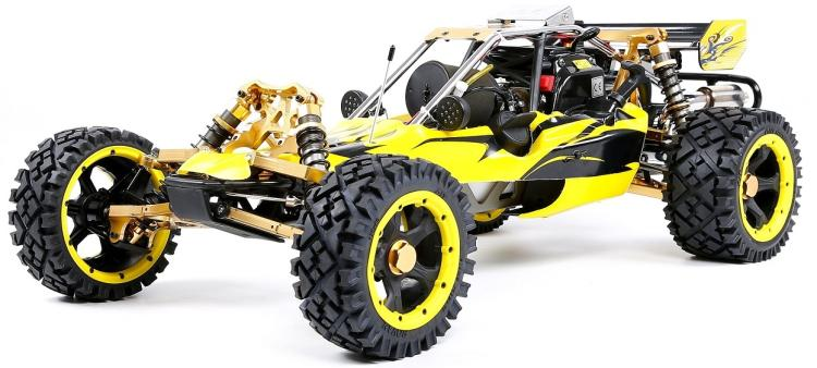 1/5 échelle RC voiture Rovan RACING Baja 5B 45cc 2 temps essence Engin Walbro carburateur NGK bougie d'allumage