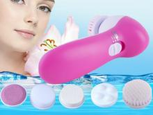 2015 Hot sale!Mini Skin Beauty Massager Brush Electric Wash Face Machine Facial Pore Cleaner Body Cleaning Massage