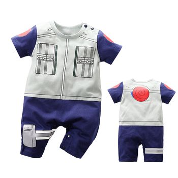 YiErYing  2019 Brand New Summer Baby Rompers 100% Cotton Jumpsuits Cartoon Style Short Sleeve Boy Girl Clothes