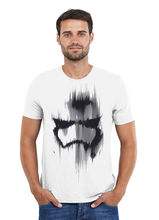 Mens STAR WARS - TROOPER MASK T Shirt Tee White or Grey Free shipping  Harajuku Tops Fashion free