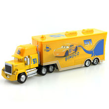 Disney Pixar Cars 3 Mack Truck No.51 Dinoco Cruz Ramirez 1:55 Scale Diecast Metal Alloy Model Toy For Children'S Gifts(China)