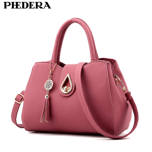 Latest Fashion Hand Bags Korean Style Black Luxury Pu Leather Women Handbags Female Tote Summer