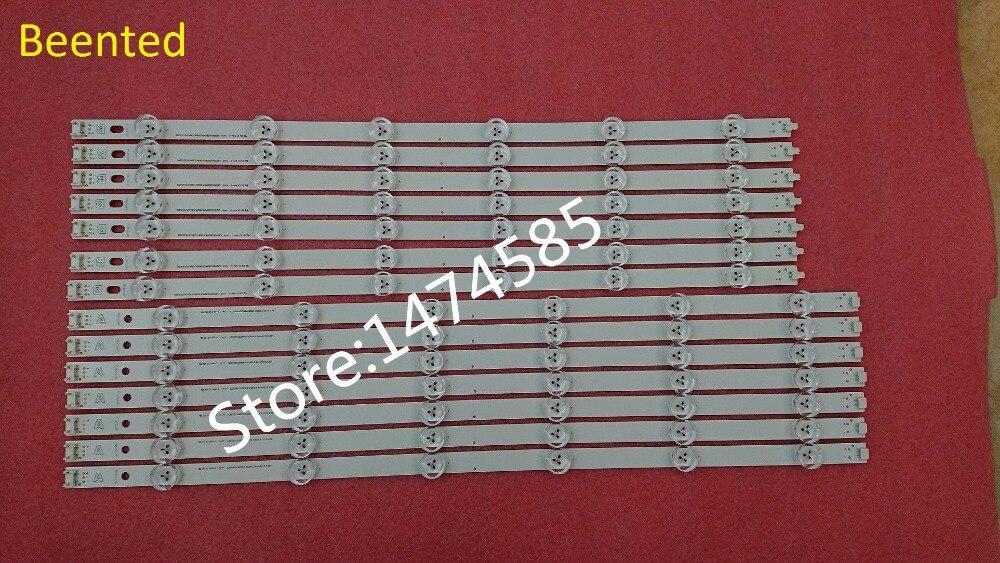 New 10 PCS set LED strip Replacement for LG 50LB650V Innotek DRT 3 0 50 A