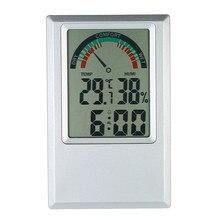 Thermomètre numérique haute précision, hygromètre, testeur d'humidité et de température, alarme murale, affichage du niveau de confort, valeur Max Min
