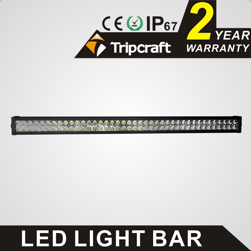 TRIPCRAFT car light shockproof 240w led light bar high power work light for offroad 4x4 truck SUV Tractor ATV 4WD fog lamp flood 19inch 40w 6500k ip67 4000lm car led high power working light headlights for truck outdoor work lamp
