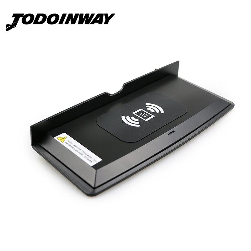 Pour Range Rover Sport 2014-2018 QI chargeur de téléphone de charge sans fil plaque de charge rapide console centrale accessoires de boîtier de charge