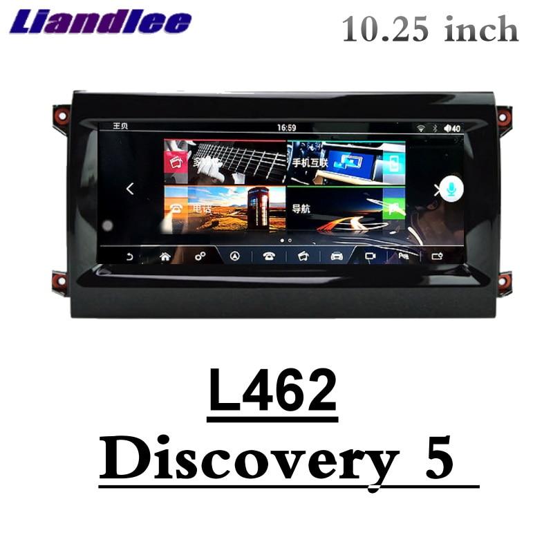 Lecteur multimédia de voiture Liandlee NAVI CarPlay pour Land Rover Discovery 5 L462 cinquième 2017 2018 2019 Radio écran GPS Navigation