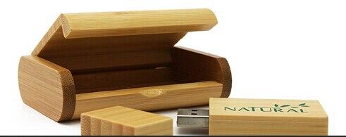 bambou naturel en bois bote et usb 20 mmoire flash bton cl usb personnalise photographie imprimer - Cl Usb Personnalise Mariage