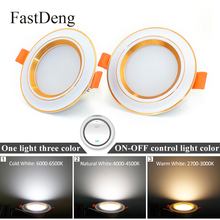 Led Downlight 3W 5W 9W 12W 20W Round Panel Light Ceiling Ultra Bright Mini Spot 220V Cold White Change for Living Room