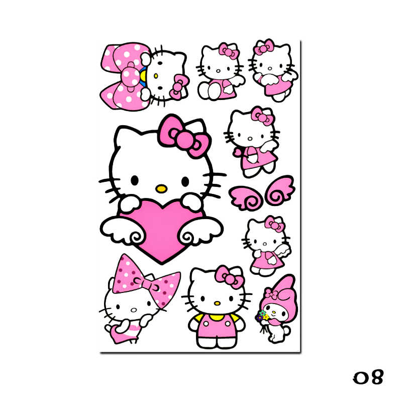 60d9414f9 ... Etie Car-styling Hello Kitty Cartoon Car Sticker Decal Accessories for  Motorcycle Trolley Case Laptop ...