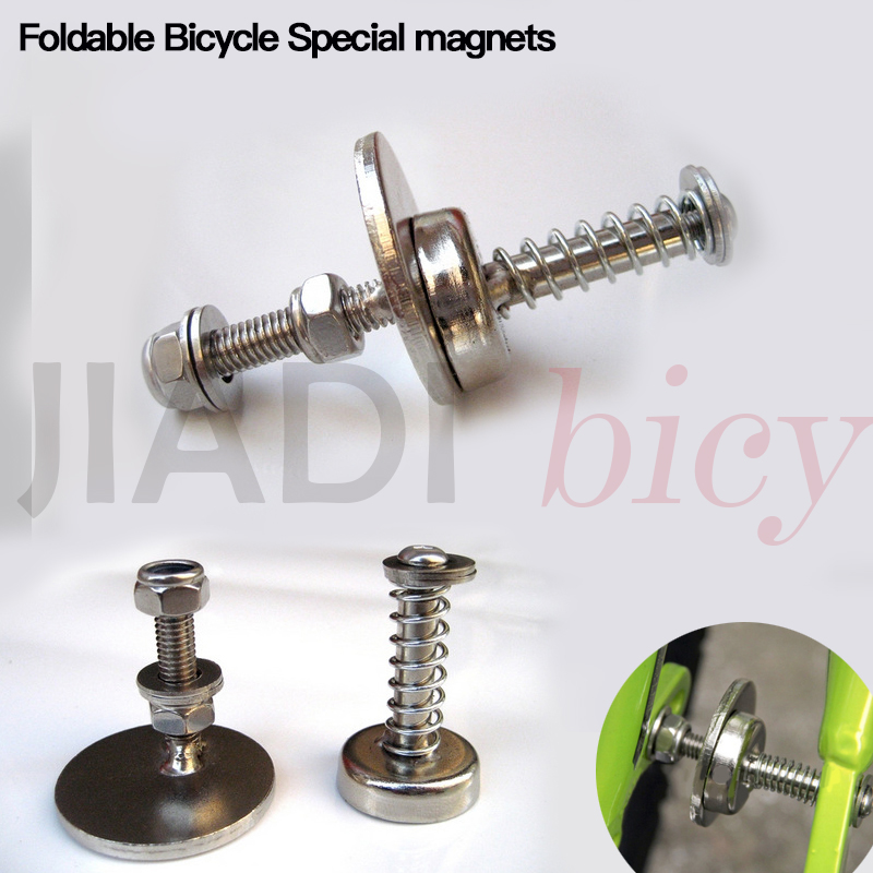 Folding Bicycle Magnet High Quality Magnetic Suction Folding Bike Practical Accessories Strong Sticky Cycling Equipment hilda magnetblock strong magnetic tool wearing a helicopter suction magnetic receive article