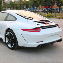 Carbon Fiber Trunk Spoiler Fit For 2012-2015 Carrera 911 991 Rear Wing Of The VRS 911 V-RT Style все цены