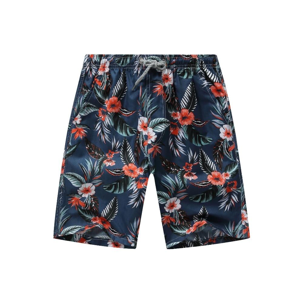 Männer Gedruckt Strand Shorts Quick Dry Lauf Shorts Bademode Badeanzug Badehose Bademode Sport Shorts Board Shorts Plus Größe