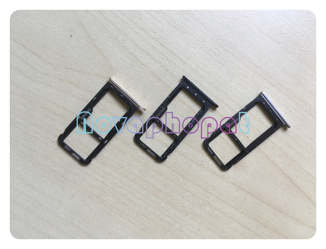 Novaphopat For <font><b>Meizu</b></font> <font><b>M5C</b></font> M710H SIM Card Tray Holder Micro SD Slot Socket Adapter Replacement + Tracking image