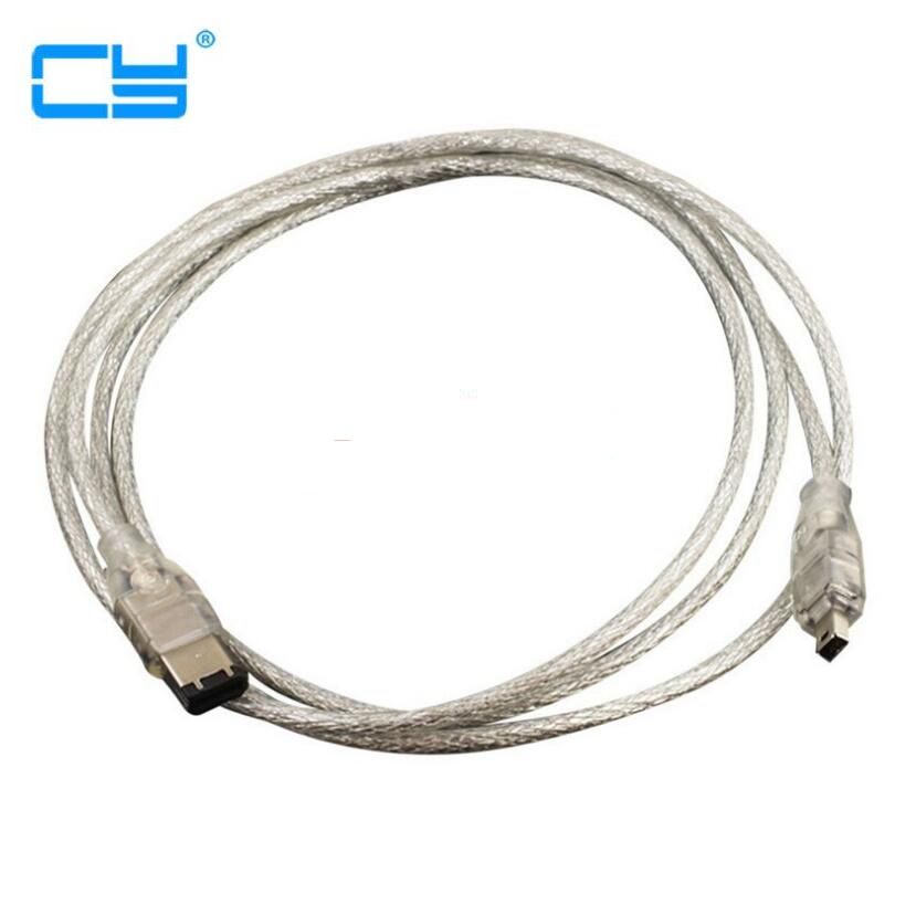 6 Ft High Performance 4pin to 4 pin IEEE 1394a Firewire 400 iLink Cable