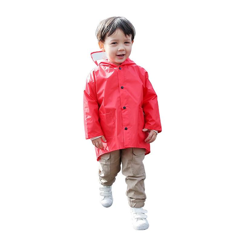 New cute polyester childrens raincoat small dinosaur waterproof boy childrens kindergarten windbreaker student baby raincoat