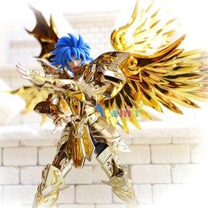 Image 2 - CMT отличные игрушки Ex Gemini Сага душа золота Сен Сейя металлическая Броня Миф Ткань Золото фигура аниме