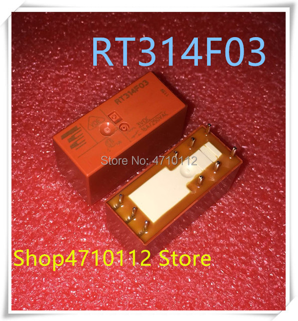 NEUE 5 TEILE/LOS RT314F03 16A 3VDC DIP 9