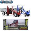 Serie 1:16 Aleación modelo de coche de metal de mano agrícola tractor de juguete de simulación