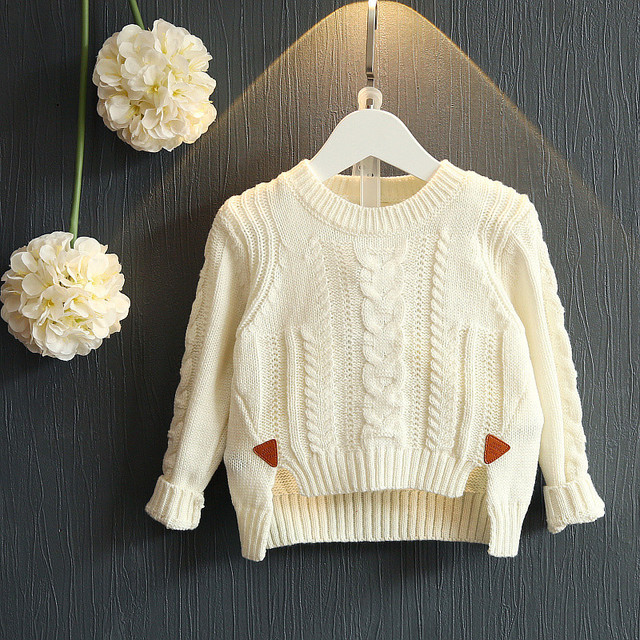 e63053770c3158 girls sweaters kids winter sweater 2017 autumn baby girl warm clothes solid knitwear  children clothing blouses and tops