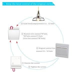 Image 4 - Aqara LLKZMK11LM Zwei weg Control Modul Drahtlose Relais Controller 2 Kanäle Arbeit Für smart home APP & Home Kit control Modul