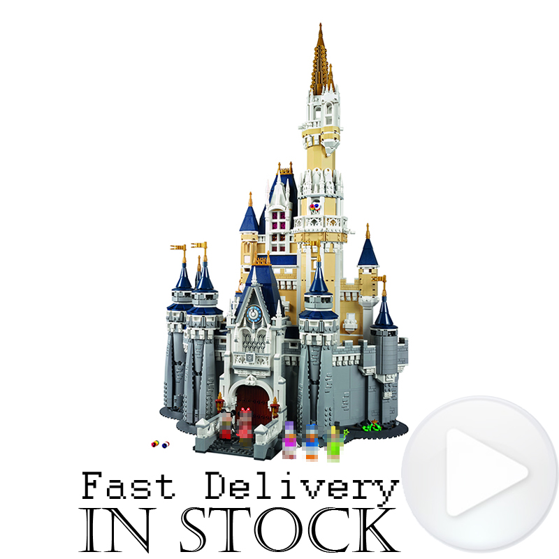 LEPIN 16008 Creative Movies The Cinderella Princess Castle Set Model Building Block Brick Educational Kid Toys For Gifts 71040 new lepin 16008 cinderella princess castle city model building block kid educational toys for children gift compatible 71040