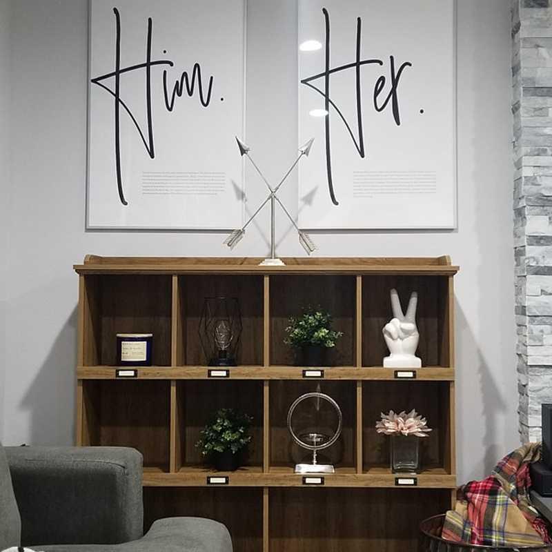 Scandinavian Canvas Paintings Love Poster Master Bedroom Wall Art Decor ,  Nordic Design Modern Art Painting Apartment Home Decor