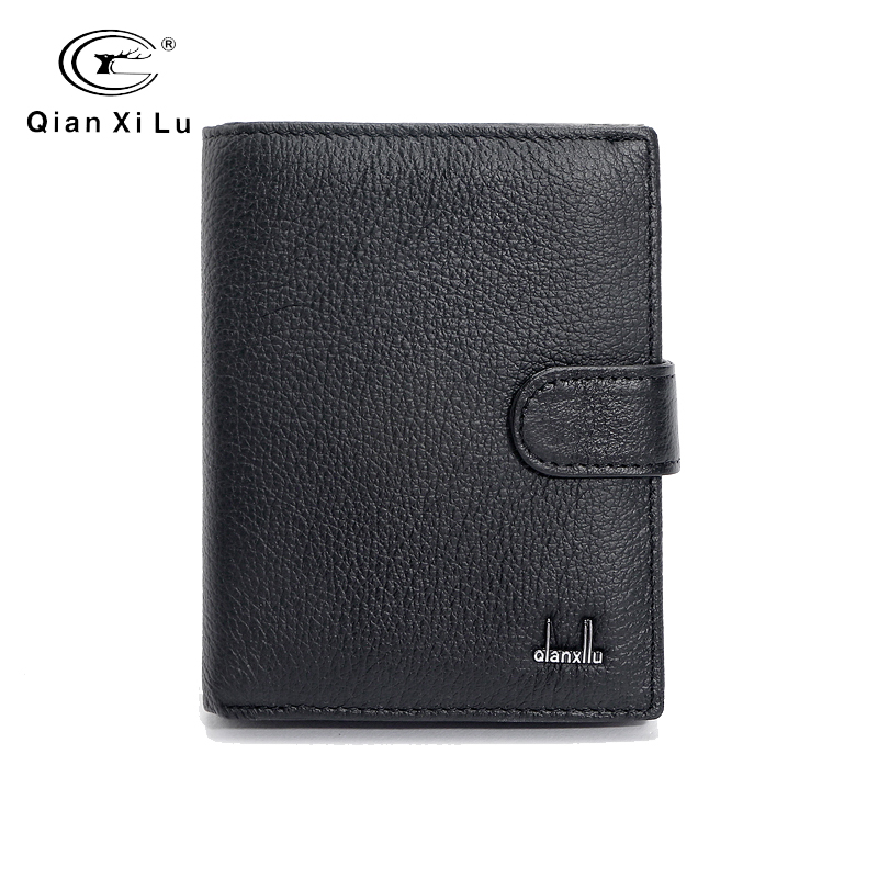 Mens Wallets Genuine Leather Passport holder Large Purse Brand Male travel Bags accessories