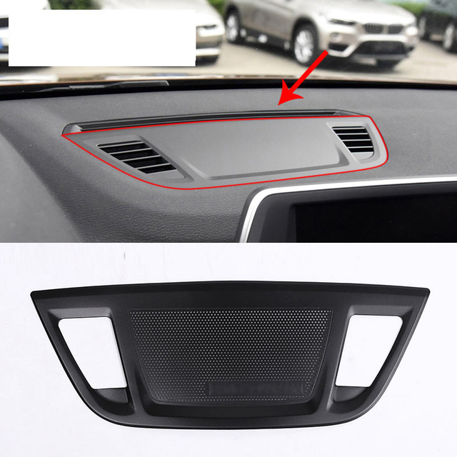 2016 Chevy Avalanche >> Car styling For BMW X1 F48 2016 2017 Aluminum Alloy Center Control Console Dashboard Speaker ...