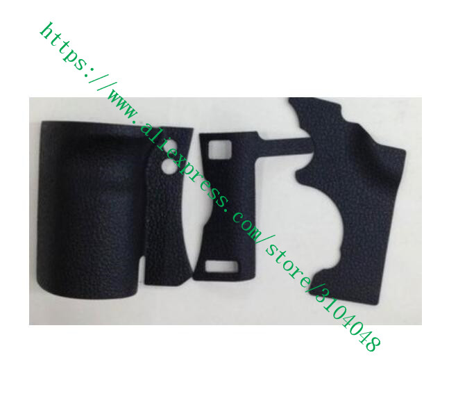 NEW Body Rubber Shell For Canon FOR EOS 5D Mark II / 5DII / 5D2 Digital Camera Repair Part +Tape