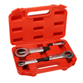 4 шт. поврежденный ржавый гаечный сплиттер гаечный ключ сепаратор болт Инструмент для извлечения гаек инструмент для удаления резец ручные ...