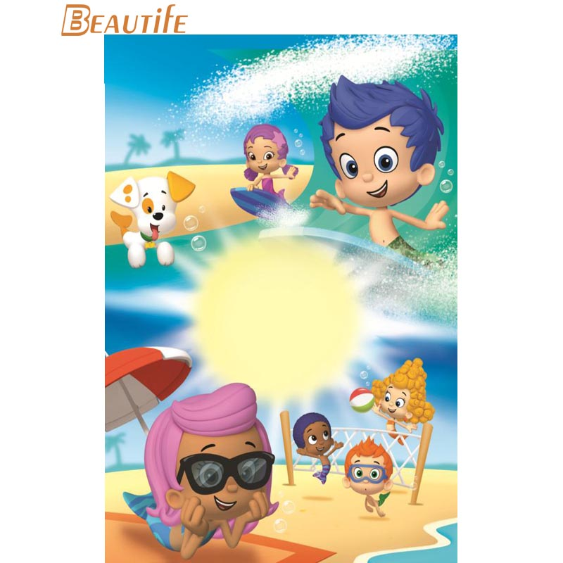 Perfect Bubble Guppies Wall Decor Elaboration - Art & Wall Decor ...