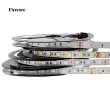 Firecore led strip 5050 Waterproof/Non-waterproof 5m RGB/White/Warm white/Red/Blue/Green DC12v SMD Flexible strips