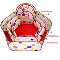 Bebé Parque Infantil Corralitos Niños Bebé Corrales Tiendas de Seguridad para Niños con Cestería de Juegos Para Niños Carpa Océano Piscina de Bolas