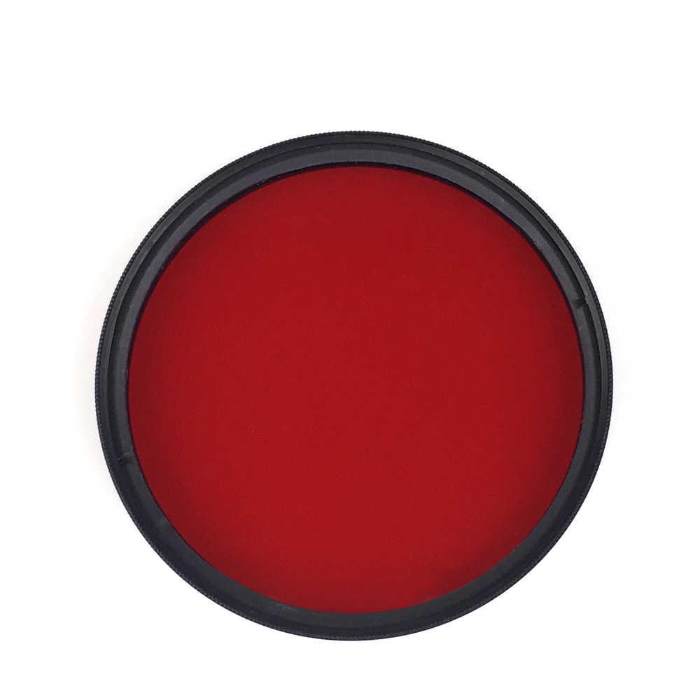 67 ミリメートル円偏光板カメラ赤フィルター色ライト救済水中ダイビングレンズ変換ねじ山で
