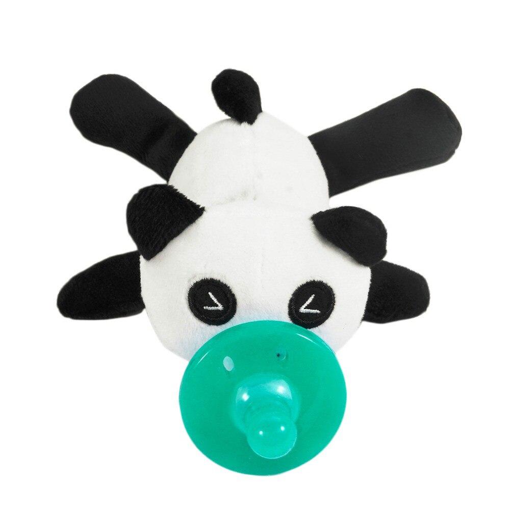 Милая Детская плюшевая игрушка, соска для новорожденных мальчиков и девочек, мультяшная Соска-пустышка Силиконовая пустышка, соска, аксессуары для кормления