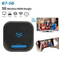 5G беспроводной дисплей ресивер ключ miracast Airplay Dlna HDMI 1080 P Wifi зеркальная литая ТВ-Палка для Android, IOS, windows