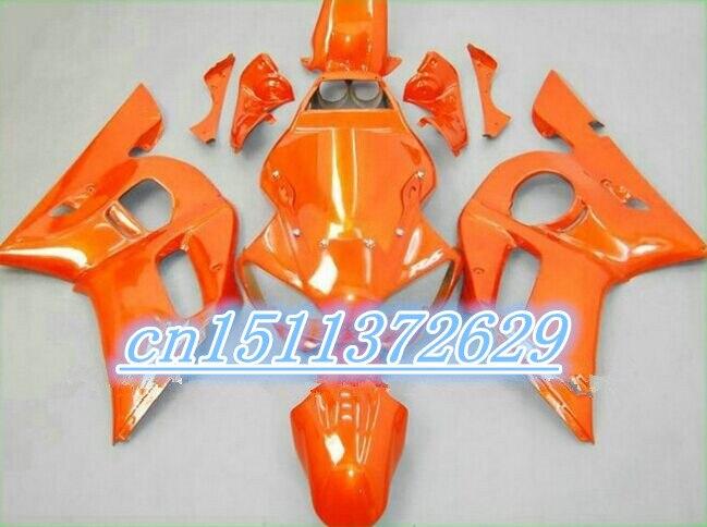 Bo carénage YZF R6 600 98 99 00 01 02 kit VISSERIE carénage YZF R6 1998-2002 1998 1999 2000 2001 2002 pleine orange