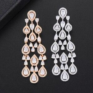 Image 2 - Missvikki boucles doreilles en cristal autrichien pour femmes, marque originale, pendentif magnifique, bijoux danniversaire, acteurs, danseurs, spectacle sur scène