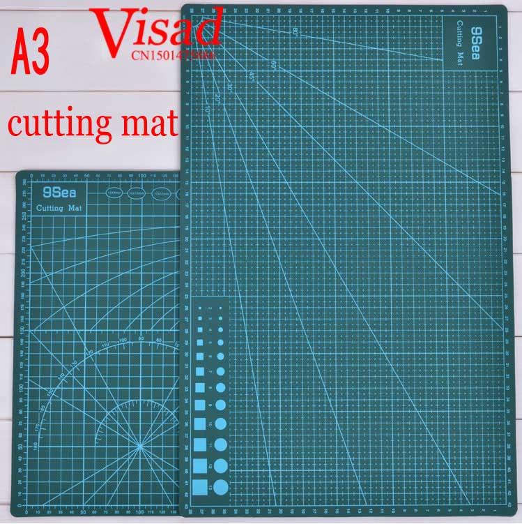 Pvc Cutting Mat  A3 Craft Dark Green Patchwork tools Cutting pad craft cutting board 30cm*45cmPvc Cutting Mat  A3 Craft Dark Green Patchwork tools Cutting pad craft cutting board 30cm*45cm